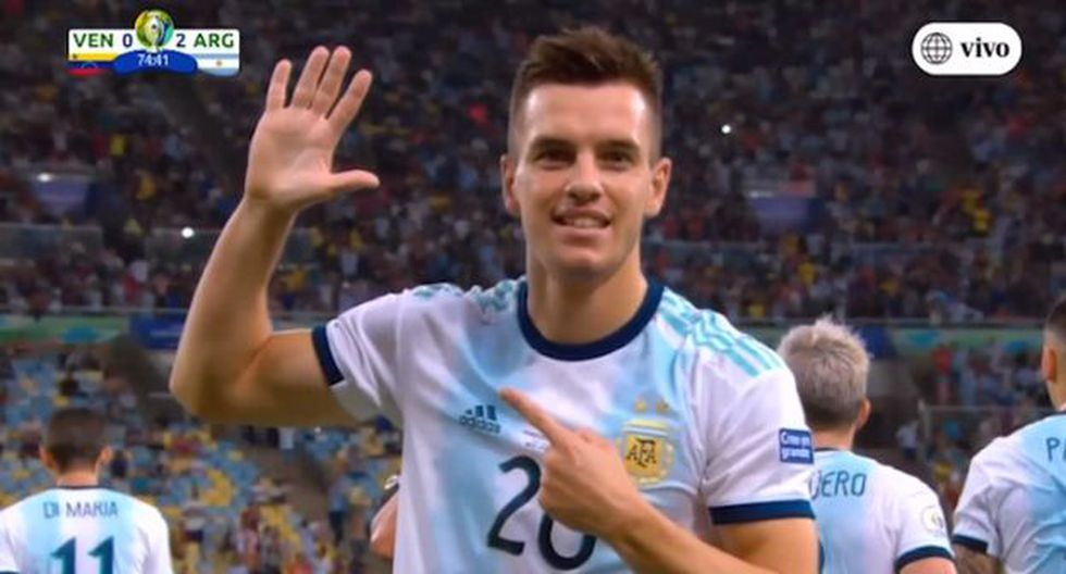 Gol 2 de Argentina