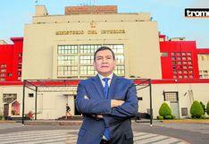 Ministro del Interior Carlos Morán pone el pecho ante la delincuencia | ENTREVISTA