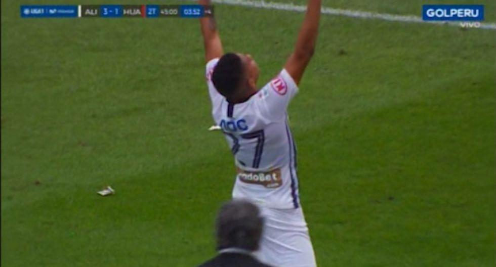 Gol 3 de Alianza Lima