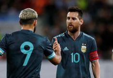 Centro de Lionel Messi y GOL deSergio Agüero para el empate entre Argentina y Uruguay en amistoso [VIDEO]
