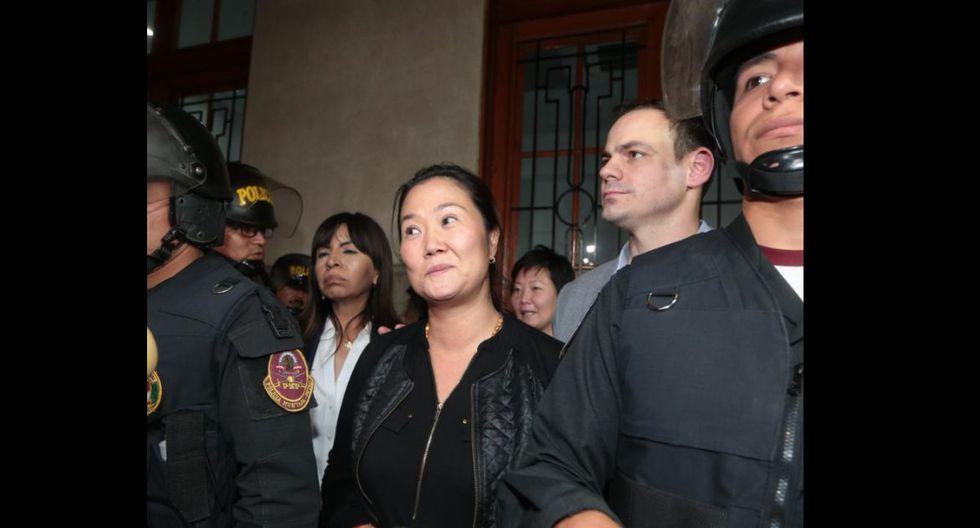 Pleno del Tribunal Constitucional declara fundado hábeas corpus de Keiko Fujimori