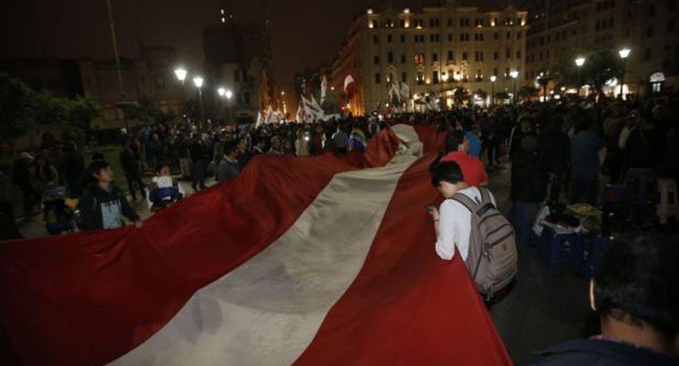 Convocan a marcha contra la liberación de Keiko Fujimori en la Plaza San Martín. (GEC)