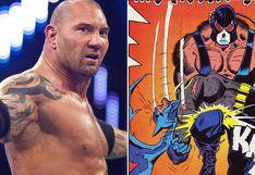 ¿Batista será Bane en la nueva película The Batman?