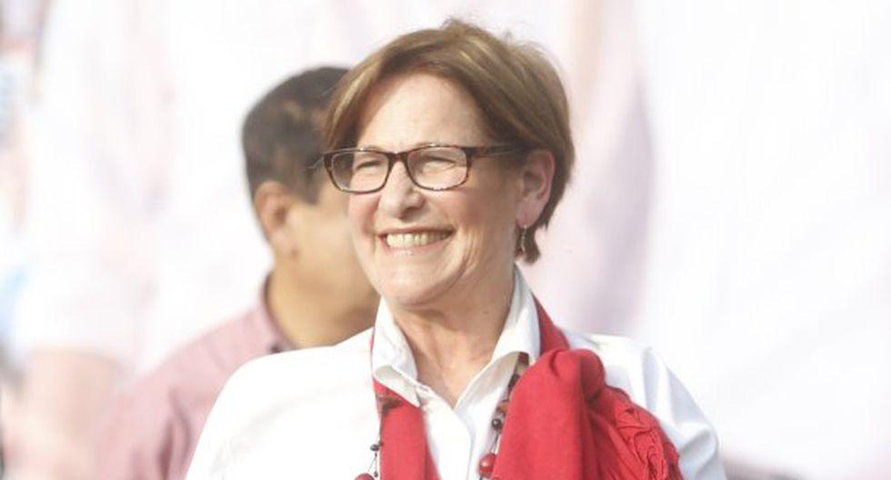 Susana Villarán votará por Verónika Mendoza para que el fujimorismo no vuelva al poder.