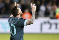 Lionel Messi puso el 2-2 final para Argentina frente a Uruguay en amistoso por fecha FIFA [VIDEO]