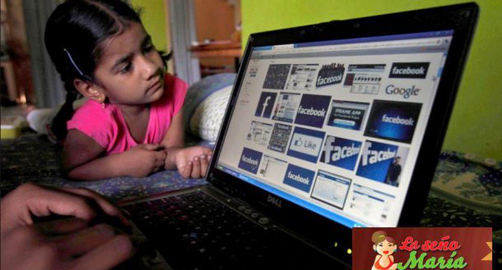Los niños expuestos a los pedófilos que navegan por Internet.