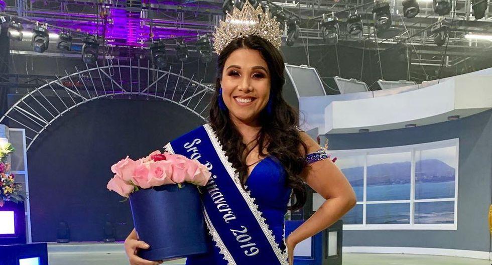 Tula Rodríguez es 'Sra. Primavera'