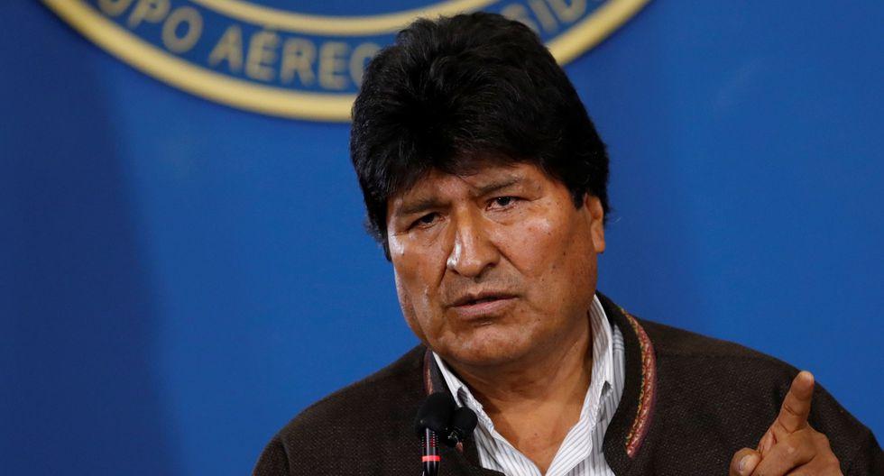 Evo Morales renunció hoy a la presidencia boliviana. (Foto: Reuters)