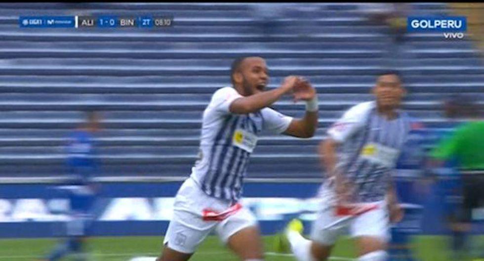 Gol 1 de Alianza Lima