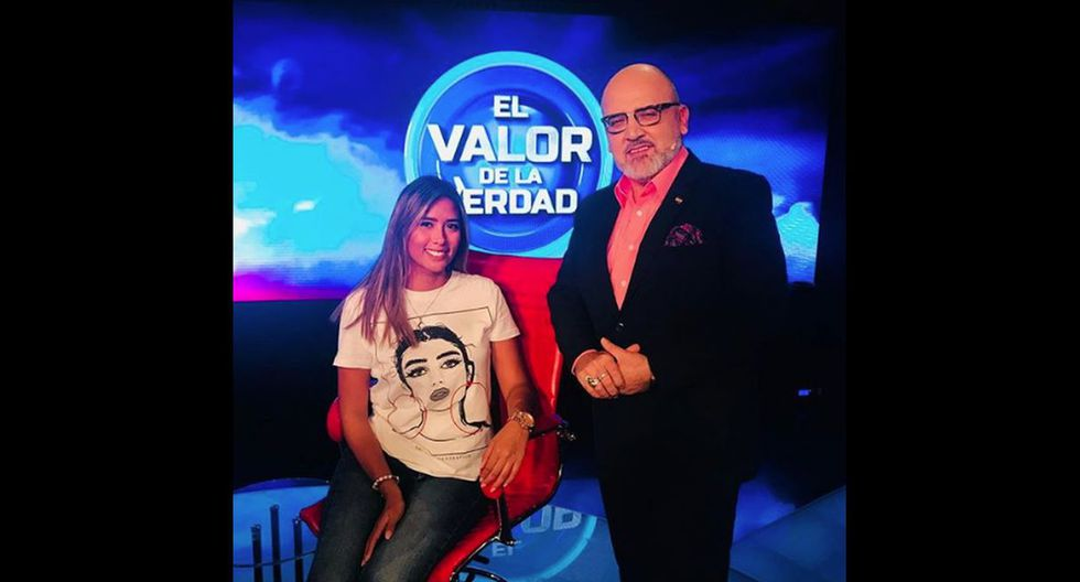 Claudia Meza en El Valor de la Verdad