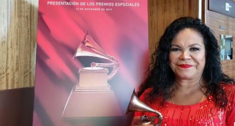 Eva Ayllón le dedicó Gammy Latino al Perú. (Imagen: DEA Promotora)