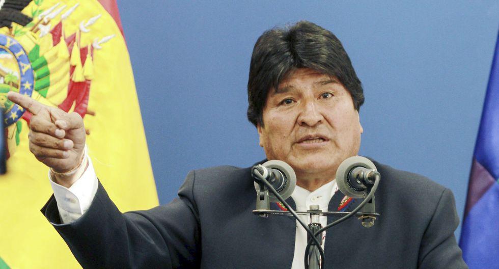 Evo Morales llamó a la calma después de los hechos de violencia en Bolivia. (Foto: AFP)