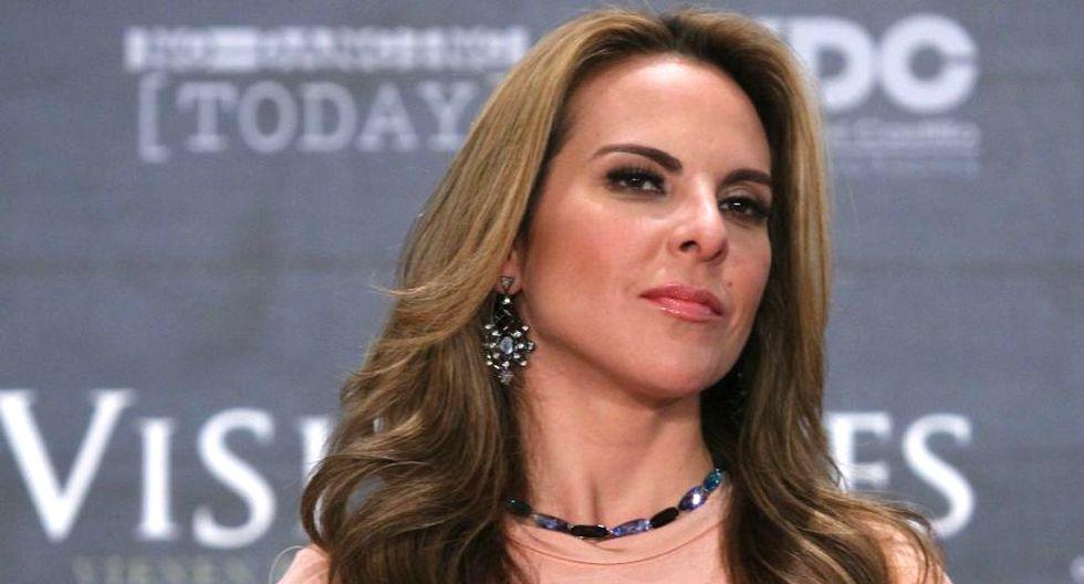 La actriz mexicana es actualmente buscada por la justicia de su país.