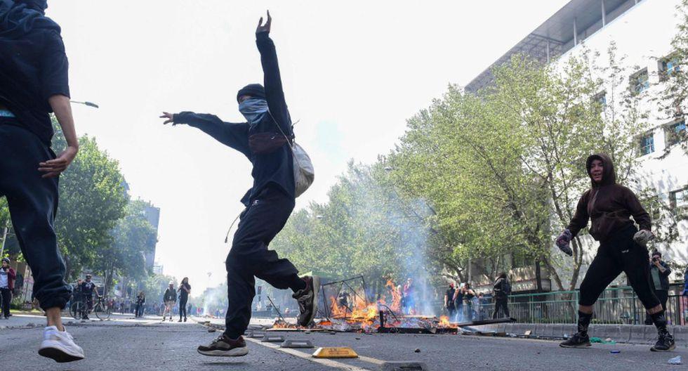Chile en toque de queda. (Foto: Agencias)