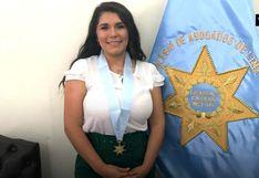 ¡Lady Guillén celebra! Conductora podrá ejercer como abogada tras recibir su colegiatura