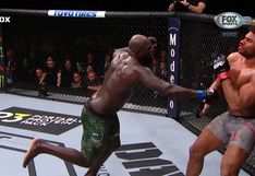 UFC: Alistair Overeem cayó noqueado con un brutal nocaut de Jairzinho Rozenstruik a 4 segundos del final
