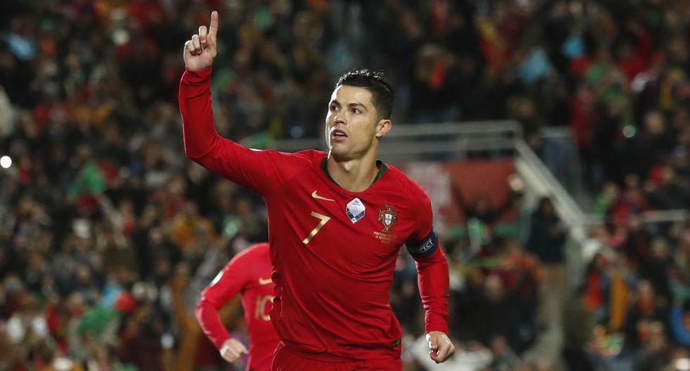 Golazo descomunal de Cristiano Ronaldo: Mira su doblete en Portugal vs Lituania por Eliminatorias Eurocopa
