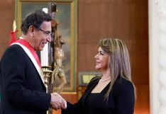 Vizcarra tomó juramentó a Elizabeth Hinostroza como nueva ministra de Salud, quien reemplaza a Zulema Tomás