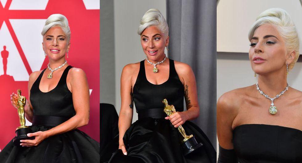 La joya que colgaba del cuello de la artista no era una piedra preciosa cualquiera. Esta es su historia. (Foto: AFP)