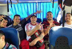 River Plate vs Flamengo: Hincha brasileño no encontraba bus y viajó de Tacna a Lima rodeado de argentinos